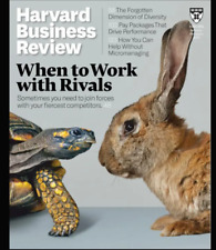 Harvard Business Review January-February 2021 Magazine Went To Work With Rivals