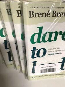 New DARE TO LEAD - Brene Brown - Brave Work,Tough Conversations, Whole Hearts