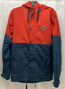 RIDE SNOWBOARD CO. Jacket Ski  Snowboarding Men's Size Small Blue Red