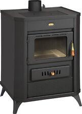 Poêle à bois cheminée multi CARBURANT brûleur Foyer verre 15kW PRITY WD E