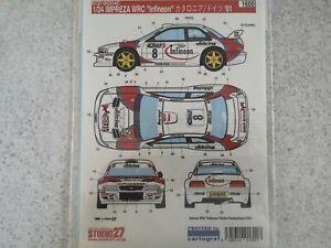 1/24 rally decals - Subaru Impreza WRC - Mortl - Rally Germany 2001