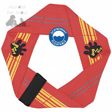Dog Toy Ring, made of Firehose, Floatable  22 cm particularly durable with Sound