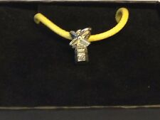 "Windmill TG310 English Pewter On 18"" Yellow Cord Necklace"