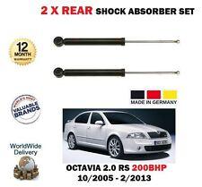 per SKODA OCTAVIA 2.0 RS 200bhp Hatchback 2005-2013 2x Ammortizzatore post. Set