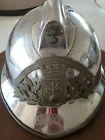 Antique French Firemans Helmet