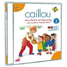 CAILLOU 10 CD KINDERHÖRBUCH NEU