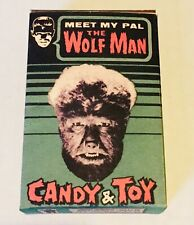 THE WOLFMAN PHOENIX CANDY & TOY BOX 1960S REAL NICE EARLY REPRO UNIVERSAL
