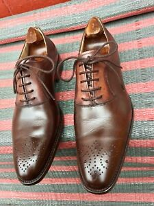 Finsbury Men's Classic Range Goodyear Welted Oxford Shoes RRP £275 UK 7