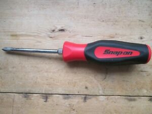 SNAP ON SCREWDRIVER PHILLIPS CLASSIC RED NO 2 SGDP421RB NEW PREMIUM TOOL