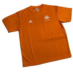 Adidas Guam Micronesia Island Fair Ko'ko Road Race Orange T-Shirt Men's Medium