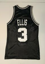 DALE ELLIS San Antonio Spurs Vintage Champion Jersey 40 NBA Elliott Duncan