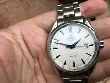 Omega Aqua Terra Seamaster 42mm co-axial chronometer white/blue