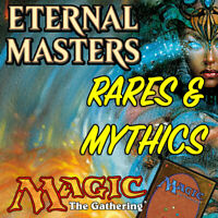 Magic the Gathering MTG Eternal Masters EMA Mythic Rares & Rare Cards NM/M
