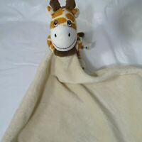 BoBo Buddies Giraffe Plush Lovey Security Blanket Baby Boy Girl Tan Brown