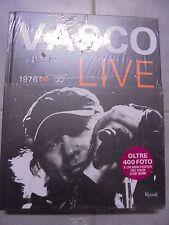 LIBRO VASCO LIVE DA 1976 A INFINITO CON 400 FOTO E UN MINI POSTER TOUR LIVE KOM