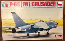 OOP Esci 1/72 F-8E (FN) Crusader Model aircraft kit#9075