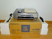 Sony DHR-1000 High-End DV-Recorder OVP&NEU, 2 Jahre Garantie