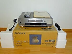 Sony DHR-1000 High-End DV-Recorder OVP&NEU, 2 Jahre Garantie