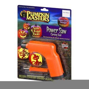 Pumpkin Masters Orange Halloween Power Saw Carving Tool New