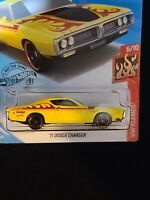 2020 Hot Wheels 71 Dodge Charger HW Flames 6//10-3.00+Off S/&H+5-15/% Off W//More
