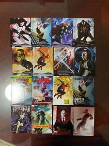 2020 UD MARVEL MASTERPIECES  Trading Card ( LOT OF 16)
