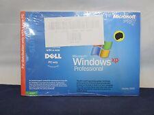 NEW MICROSOFT WINDOWS XP PROFESSIONAL COA + INSTALL DISC VERSION 2002