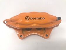 08-19 Dodge Challenger Charger Left Rear Disc Brake Caliper Orange 4 Pistons OEM