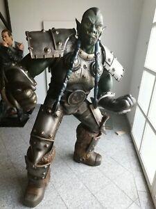 "Muckle Figur ""THRALL"" ORK World of Warcraft - Studio Oxmox Lebensgroß lifesize"
