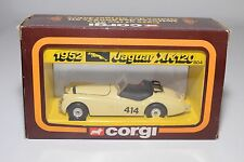 # CORGI 804 JAGUAR XK120 XK 120 1952 CREAM RALLY MINT BOXED