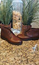 Ralph Lauren Mens Maury Brown Leather Chukka Boot Italy $895 Sz 10 D THESPOT917