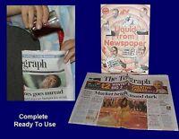 Magic Tricks - LIQUID from NEWSPAPER- (Complete) - Sale!