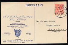 GEILL.BRIEFK.(KOEIEKOP),7½ CT.VETH-ESSCHEN (B), L.B.WOLVEGA 1,2.1.32 11-12vZk654