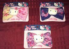 3X Hello Kitty Hair Snap Bow Set New