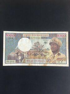 République Centrafricaine - 1000 Francs - 1,04,1978