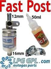 LPG Service Kit ic12 LPG Injektor Reiniger 50ml & 12 x 16 Landi Prins Filter