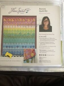 Tula Pink Aurora quilt kit 9 1/2 yards, including binding