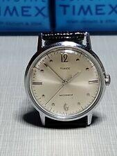 Vintage 1967 Timex Marlin Dot Dash Men's Watch~ Running Strong Keeping Time!
