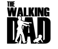 The Walking Dad Aufkleber Baby on Board Eltern Dead Autoaufkleber decal 24 #8316
