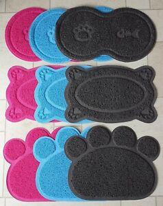 Cat Litter Tray Mat's Clean Floor Paw, Bone, Figure 8 shape Box Pan Toilet