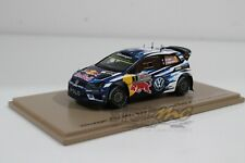 Spark S4971 Volkswagen Polo WRC World Champion Last Race 2016 1/43 #NEW
