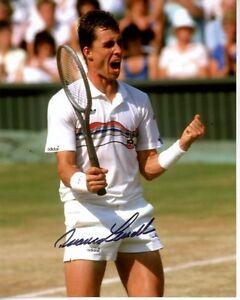 IVAN LENDL Signed Autographed TENNIS Photo