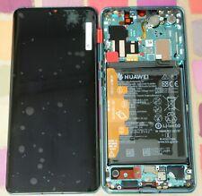 GENUINE AURORA BLUE HUAWEI P30 PRO VOG-L09 L29 LCD SCREEN DISPLAY OLED BATTERY