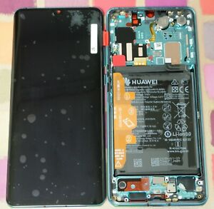 GENUINE AURORA BLUE HUAWEI P30 PRO VOG-L09 L29 LCD SCREEN DISPLAY OLED BATTERY