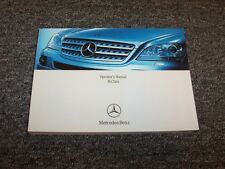 2008 Mercedes Benz ML320 ML350 ML550 ML63 AMG M-Class Owner Operator Manual Book