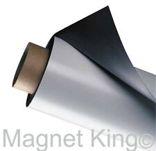 "Matte White Vehicle Magnet, Flexible, All-Weather! 12"" x 25' Magnetic Sheet Roll"