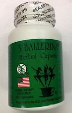 3 Ballerina Diet Herbal Weight Loss Pills  30 Capsules