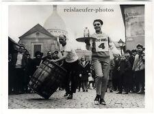 Carreras de Montmartre en París. original-photo de 1964