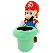 """Super Mario Warp Pipe 9"""" Plush Toy"""
