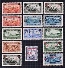 More details for syria 1926. pictorial.overprinted in arabic script in black and red. arab kingdo
