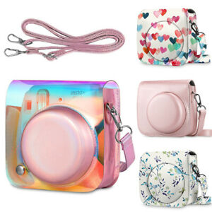For Fujifilm Instax Mini 8 / 8+/ Mini 9 Instant Camera Case Portable Bag w Strap